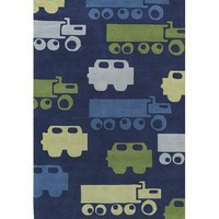 Chandra Rugs Hand-tufted Contemporary Kids KID-7624 Rug - KID-7624 - Novelty Rugs - Area Rugs by Style - Area Rugs