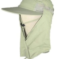 Supplex Men`s CoolMax Sun Hat with Face Shroud MC12 $27.11