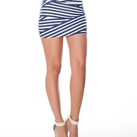Stripe Bandage Skirt | Sexy Clothes Womens Sexy Dresses Sexy Clubwear Sexy Swimwear | Flirt Catalog