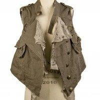 The Bombshell Vest | Indie Retro Vintage Inspired Vests | Poetrie