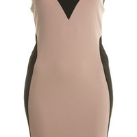 Petites Colourblock Bandeau Dress - Going Out - Miss Selfridge