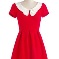Looking to Tomorrow Dress in Rouge