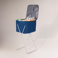 Blue Party Cube with Stand | World Market