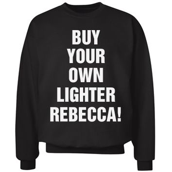 my bestie borrower buy your own lighter sweater