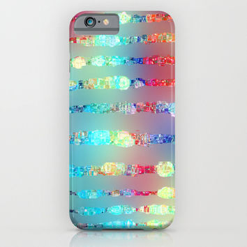 Sparkle emotions iPhone & iPod Case by SensualPatterns