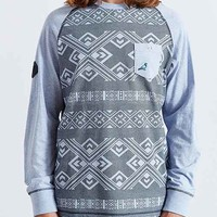 Staple Exeter Long-Sleeve Tee- Blue