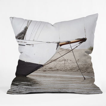 Bree Madden Sail Boat Throw Pillow - Indoor /