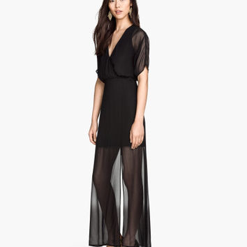V-neck Maxi Dress | Product Detail | H&M