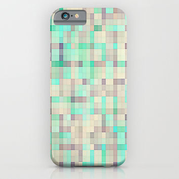 Iridescent Pixels Small iPhone & iPod Case by 2sweet4words Designs