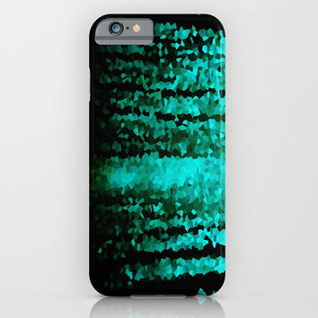 Teal Refraction iPhone & iPod Case by 2sweet4words Designs