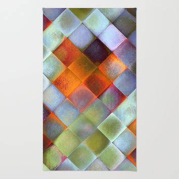CHECKED DESIGN II-v9 Rug by Pia Schneider [atelier COLOUR-VISION]