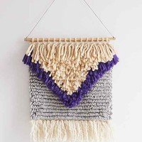 Magical Thinking Yves Woven Wall Hanging- Blue One
