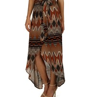 Promo-rust All Wrapped Up Skirt