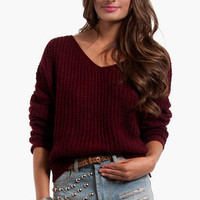 Bobble Knit Sweater $56