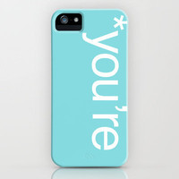 Correction iPhone Case by Pixie Sticks | Society6