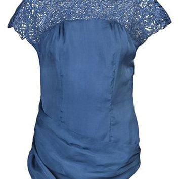 Catherine Malandrino Embroidered Top - Knit Wit - farfetch.com