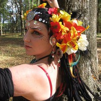 Dream Goddess OOAK Headdress