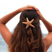 Large Starfish Hair Barrette