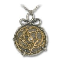 Amazon.com: Anguistralobe Alchemy Gothic Astrolabe Pendant Necklace: Jewelry