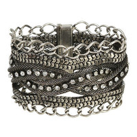 Braided Mesh Magnetic Cuff | Shop Accessories at Wet Seal