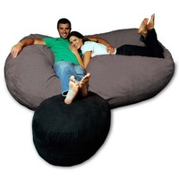 Micro Suede Theater Bean Bag Chair