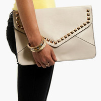 Dotted Lines Clutch $36