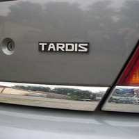 TARDIS Custom Car Emblem