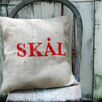 skal  to your healthswedish stamped eco friendly and by ireckon