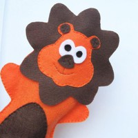 Felt Hand Puppet, Cute Lion Handpup.. on Luulla