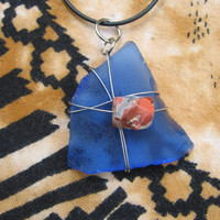 Sea Glass E Necklace