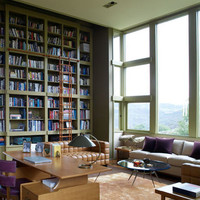 apartment, big window, big windows, book, books, bookshelf - inspiring picture on Favim.com