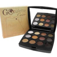 Coastal Scents Go Makeup Palette, Cairo, 0.28 Ounce