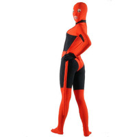 Full Body Black and Red Costume Lycra Spandex Fancy Dress for Halloween Zentai Suit with Tail [TWL1112190321] - 23.39 : Zentai, Sexy Lingerie, Zentai Suit, Chemise