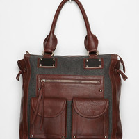 Deena & Ozzy Structured Tote Bag