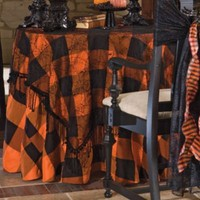 Halloween Table Linens