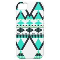 Icy Turquoise Tribal iPhone 5 Covers from Zazzle.com