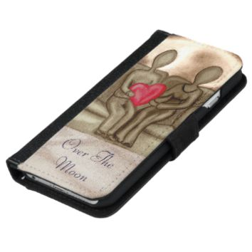 Over The Moon iPhone 6 Wallet Case