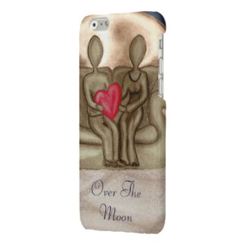 Over The Moon Glossy iPhone 6 Case