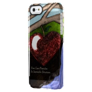 Impossible Love Uncommon Clearly™ Deflector iPhone 5 Case