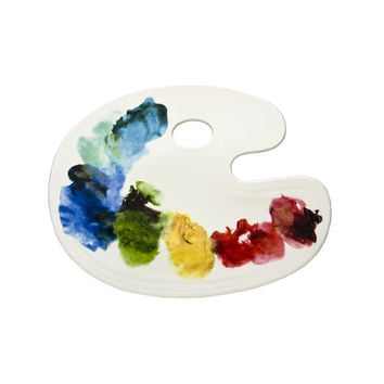 Painter's Palette Cheese Tray