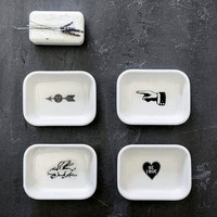 Soap Opera Dishes - Set of 4