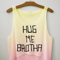 Hug Me Brotha Crop Top