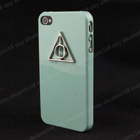 iPhone 4 Case, Deathly Hallows iPhone 4s Case, Harry Potter iPhone Case