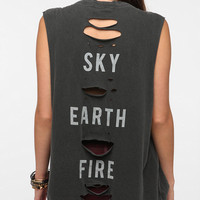 Truly Madly Deeply Sky Earth Fire Muscle Tee