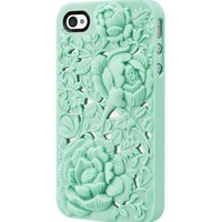 Unique Design Rose Embossing Case for iPhone 4/4S  by Julyjoy