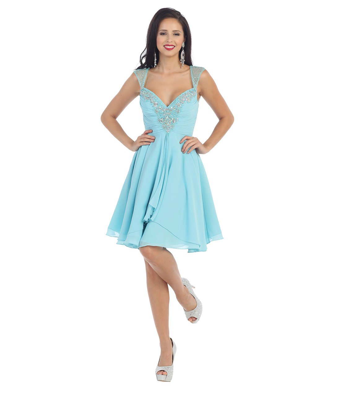 Short And Flirty Prom Dresses - Discount Evening Dresses