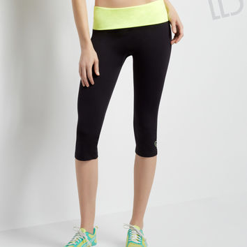 Aeropostale  LLD Seamless Crop Yoga Leggings