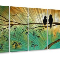 All My Walls Blossoming in the Sun Metal Wall Decor - MAD00120 - All Wall Art - Wall Art & Coverings - Decor