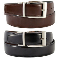 The Vegan Collection Julian Men's Reversible Dress Belt
