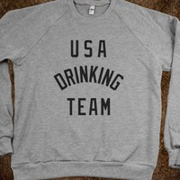 USA Drinking Team (Sweater) - Ladies &amp; Gentlewoman